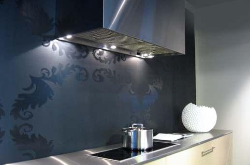 296d6fecfa17e Hotte PSW double marseille Hotte murale PSW sur plan de travail en inox  Paris Cuisine avec ...