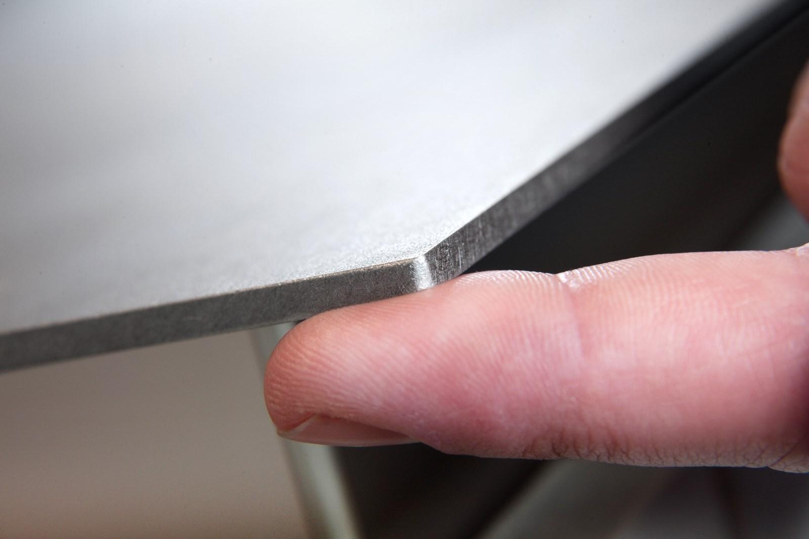 Plan De Travail Laminé plans de travail inox 4 mm massif laminés à chaud - so inox