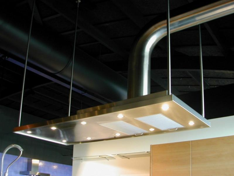 Hotte sur mesure inox Paris